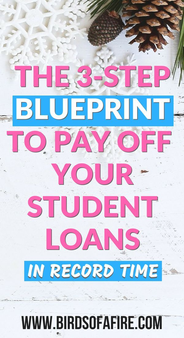 The three step blueprint to paying off your student loans in record the three step blueprint to paying off your student loans in record time pinterest students third and debt malvernweather Choice Image