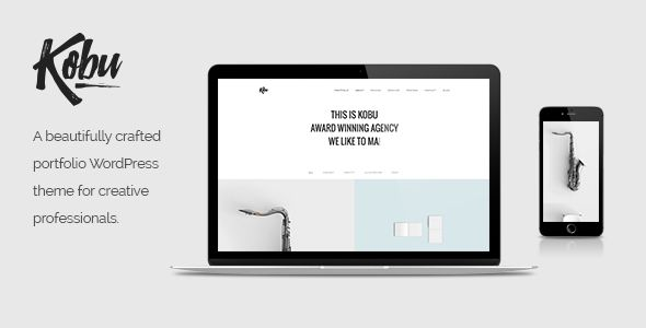Kobu - Portfolio WordPress Theme - Portfolio Creative Download here ...