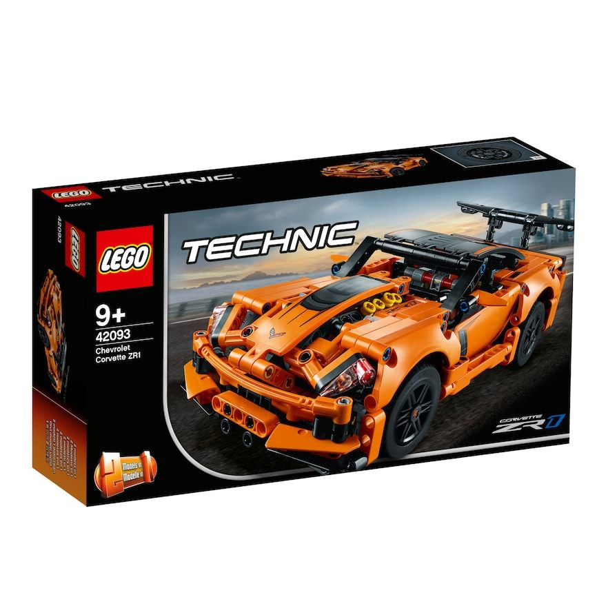Lego Technic Chevrolet Corvette Zr1 42093 Chevrolet Corvette