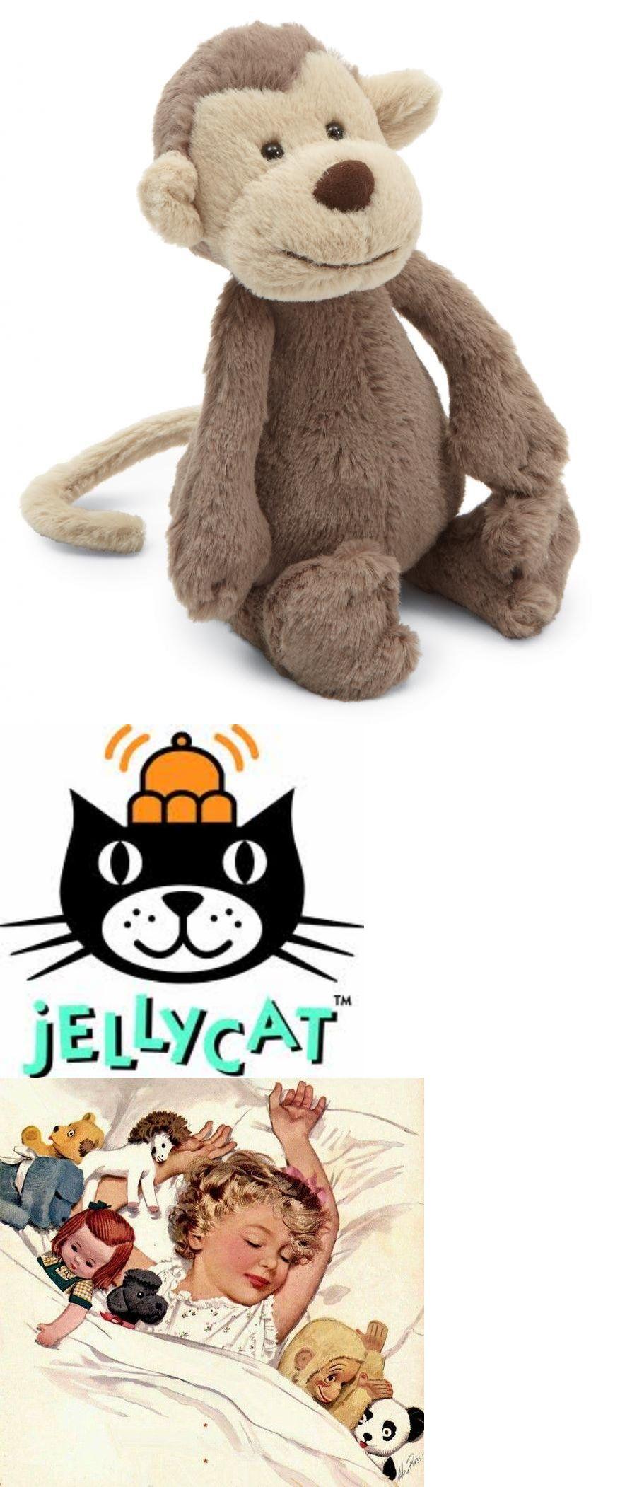 Jellycat 158786 Jellycat Bashful Monkey Stuffed Animal New With