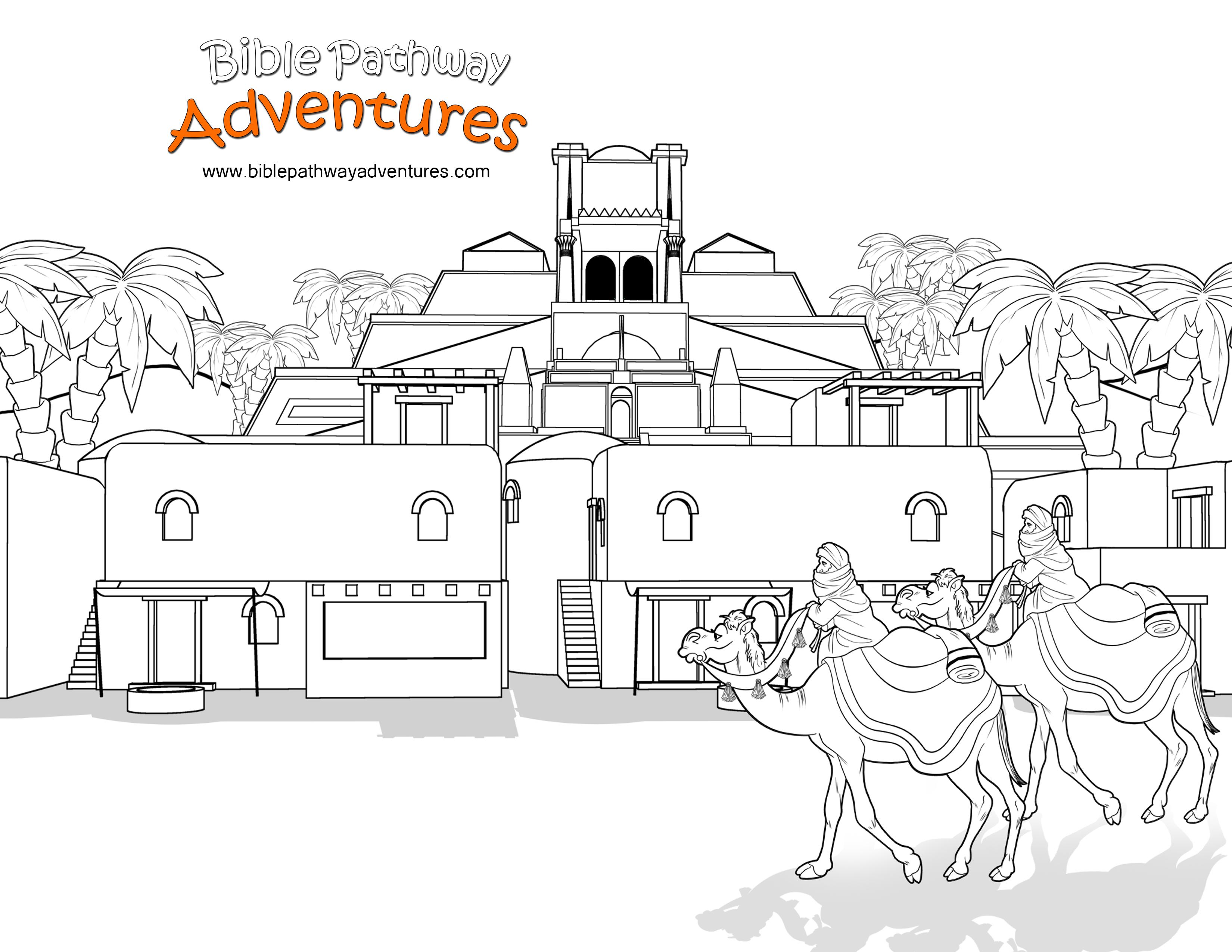 FREE Bible Activities for Kids | Belenes y Dibujo