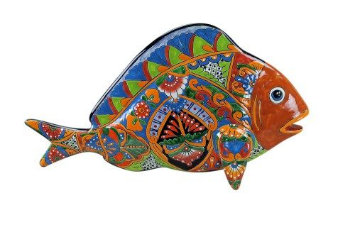 Large Talavera Fish Pottery Mexican Furniture Blogs