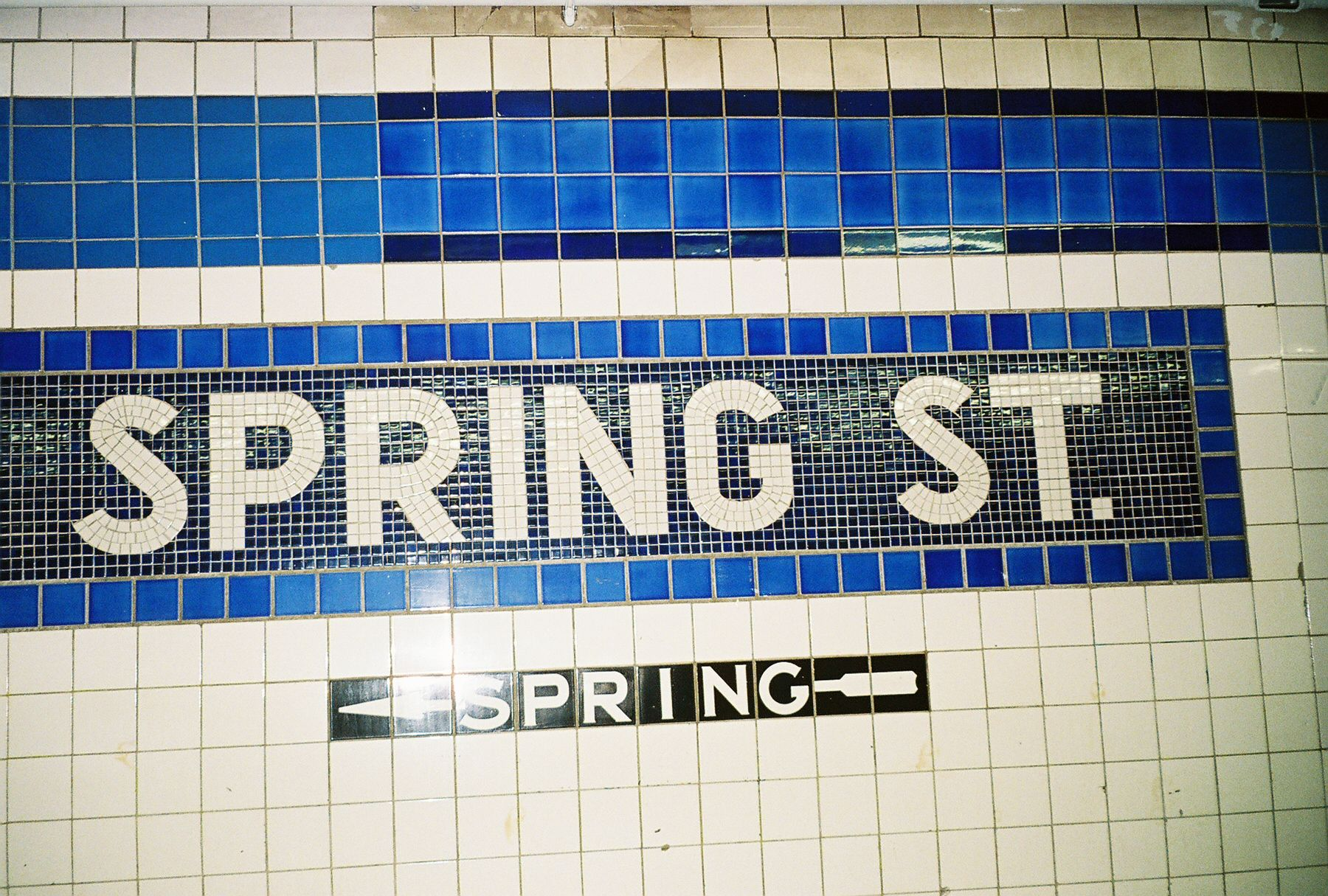 Head to the Spring Street station, via the C or E train, to
