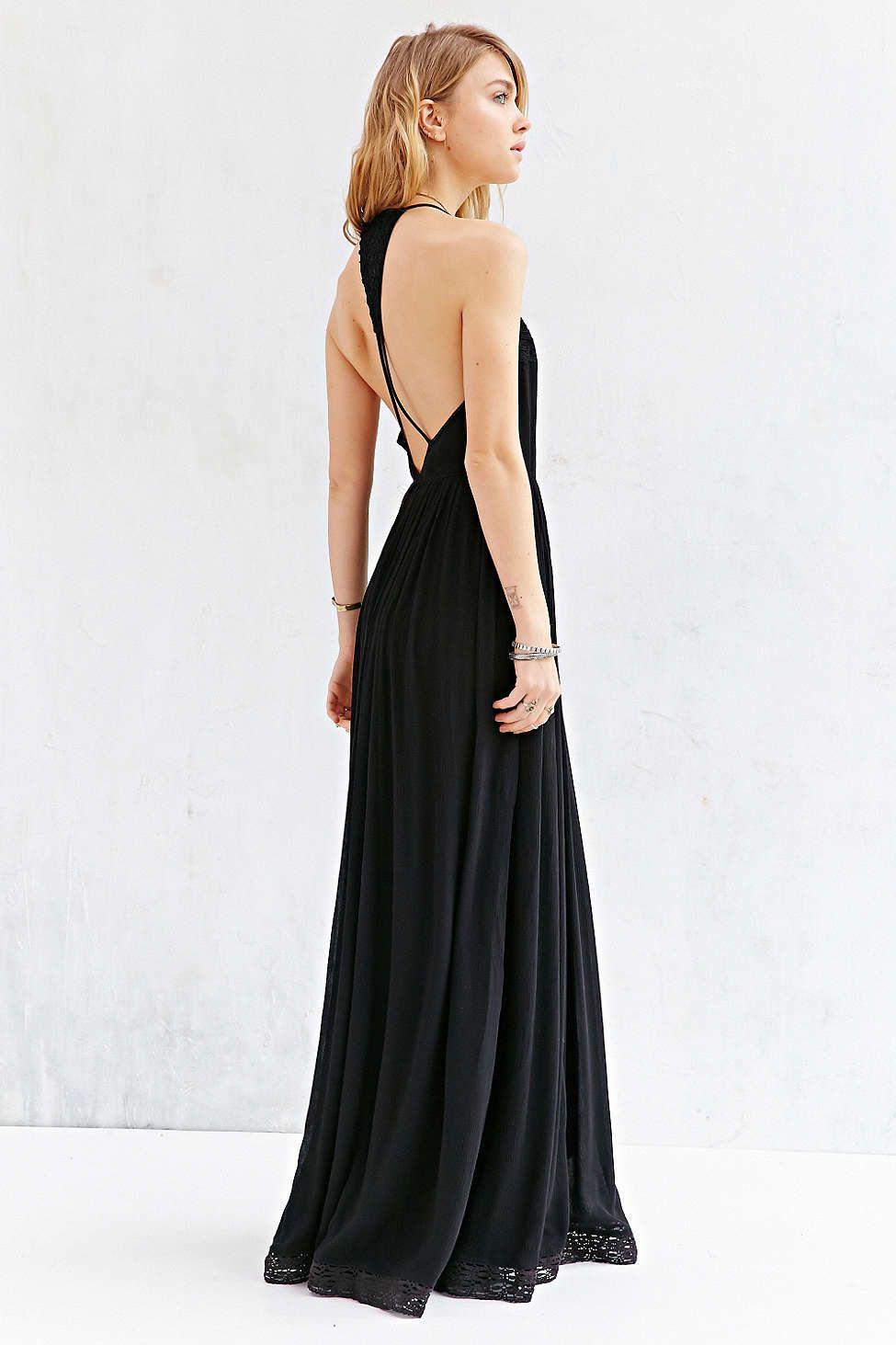 24de5b54cb58b Kimchi Blue Dove Crinkle Gauze Maxi Dress | Dresses | Dresses, Urban ...