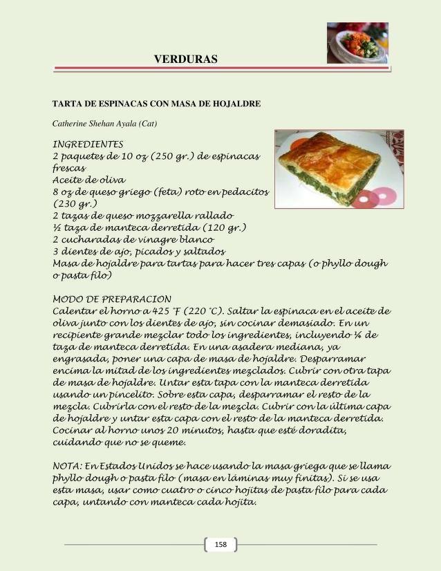 Libro De Cocina de la familia Stiefel 2013 | 10 recetas | Pinterest ...