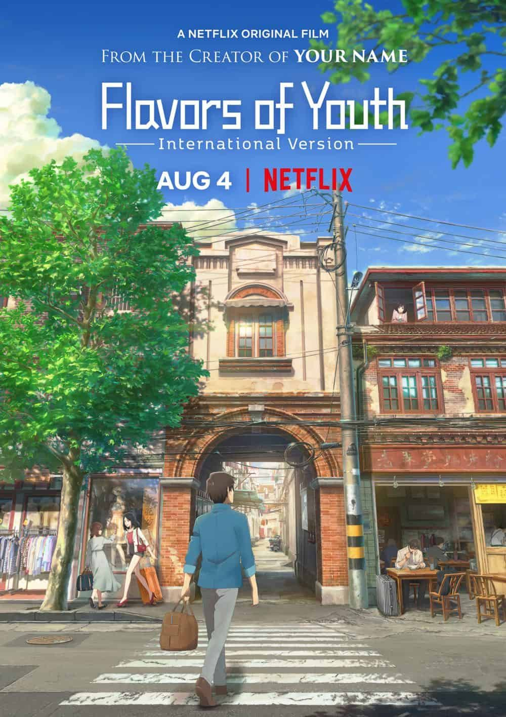 Flavors of Youth confirmed US date. Anime films, Anime