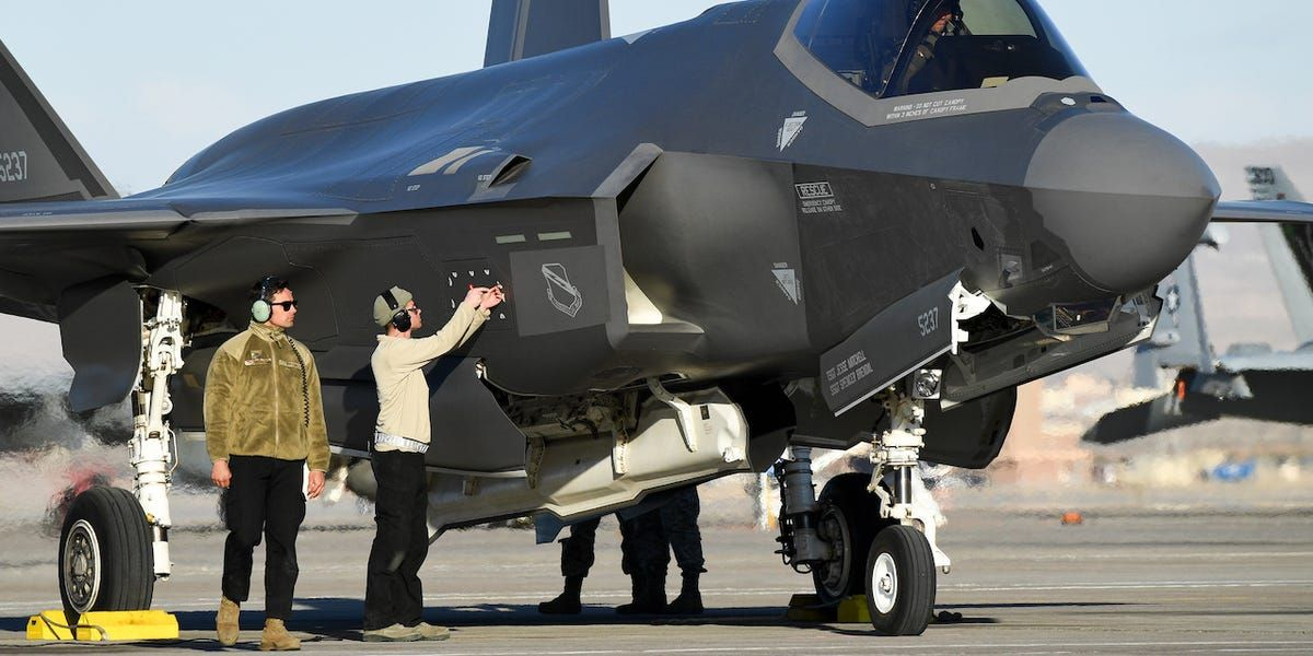 Keeping an F35 flying requires proficiency in over 700