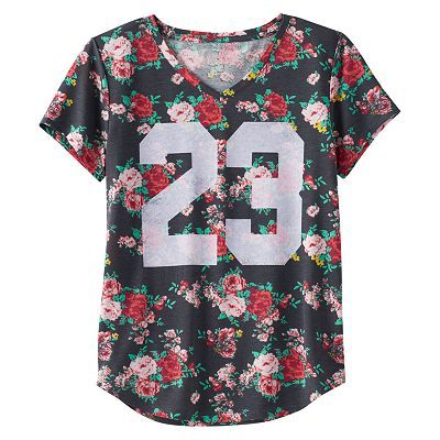 edd9cef0a Girls 7-16 & Plus Size Mudd® V-neck Graphic Tee | Style for My Kid's ...