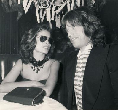 6517af1f Bianca & Mick Jagger at Studio 54   Studio 54 in 2019   Studio 54 ...