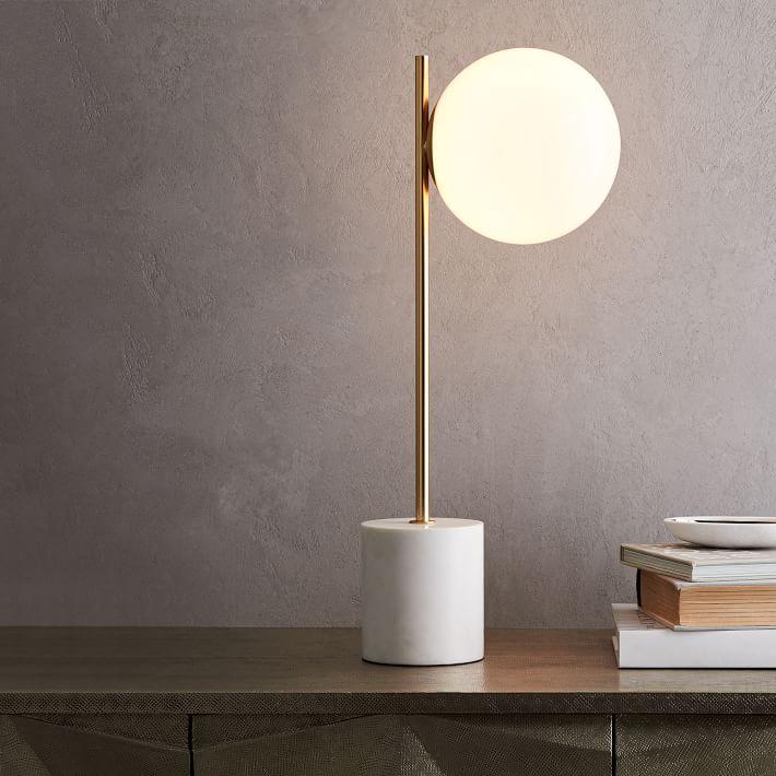 Sphere Stem Table Lamp Modern Table Lamp Modern Lamp Lamp
