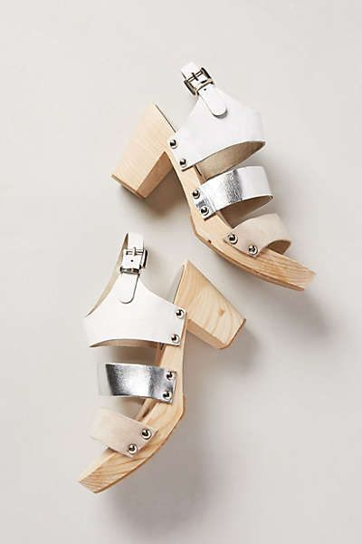 Anthropologie - Conservatory Clogs