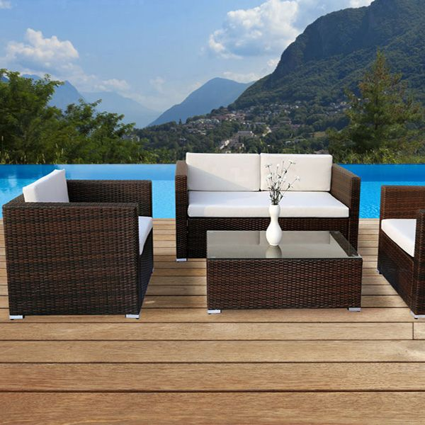 Table De Jardin Tress. Cool Table Jardin Personnes Table De Jardin ...