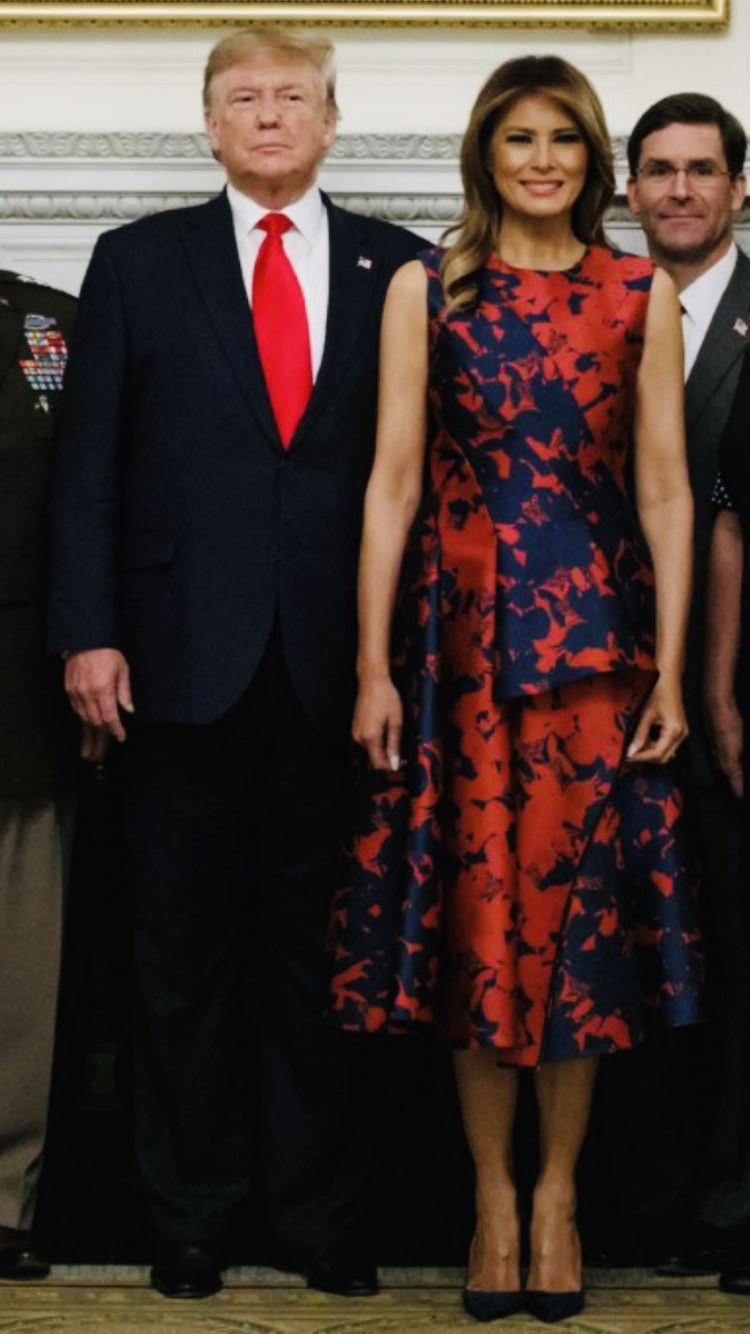 President First Lady Melania Trump 10 7 19 Trump Fashion First Lady Melania Trump First Lady Melania