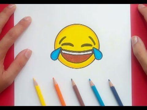 Como Dibujar Un Emoji Paso A Paso 3 How To Draw An Emoji 3 Youtube Como Dibujar Un Emoji Garabatos Simples Como Dibujar