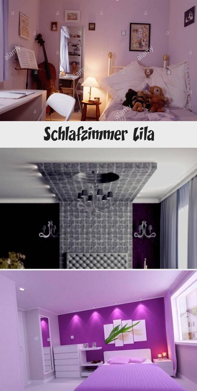 Schlafzimmer Lila In 2020 Elegant Bedroom Bedroom Black Wall