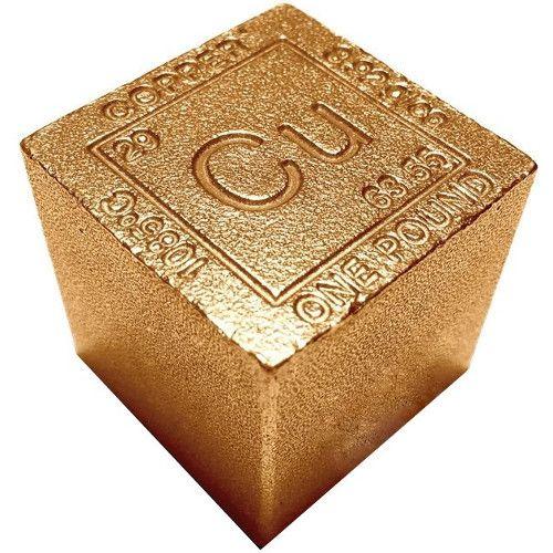 1 Lb Copper Bullion Bar Made in the USA .999 Pure Copper !!!!