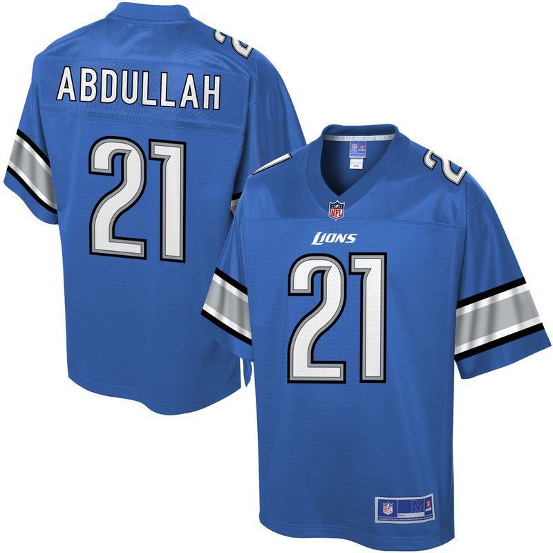 aa41d72a6 Pro Line Mens Detroit Lions Ameer Abdullah Team Color NFL Jersey ...