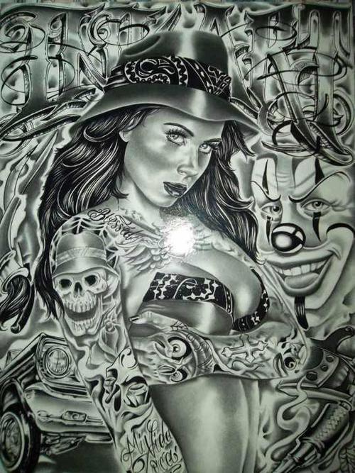 Lowrider arte love chicano lowrider arte sick - Chicano pride images ...