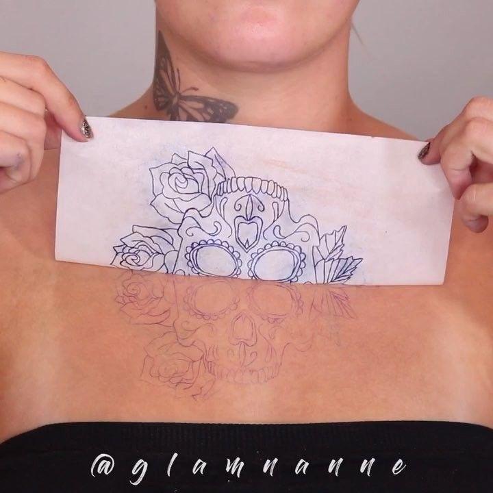A n n e on instagram how to create a fake tattoo