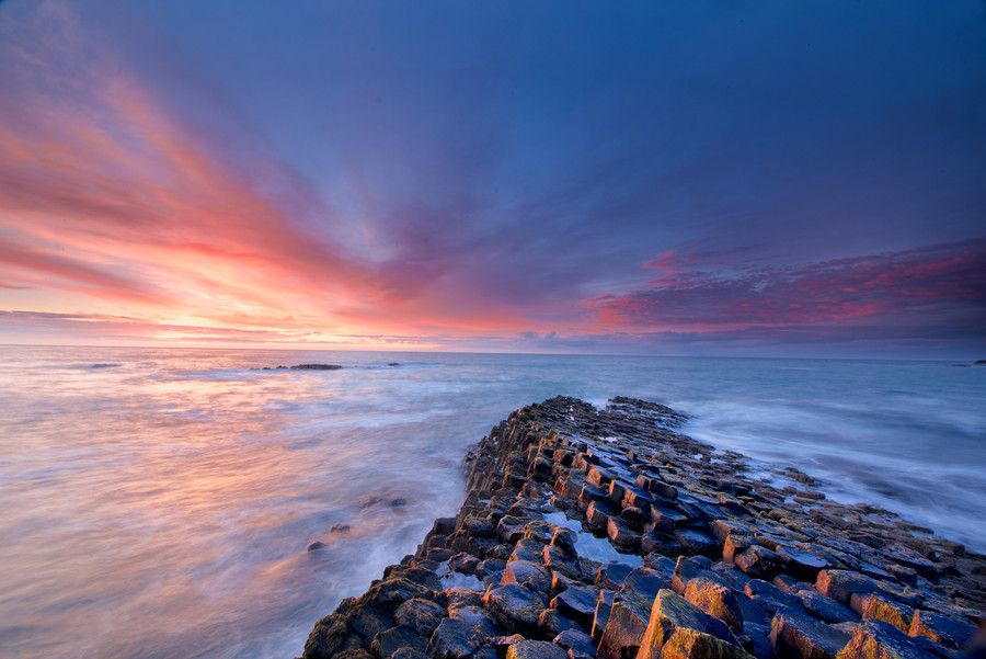 Causeway On Fire By Trevor Cole On 500px Natural Landmarks