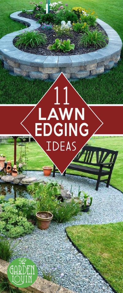11 Beautiful Lawn Edging Ideas Lawn Edging Landscaping 400 x 300