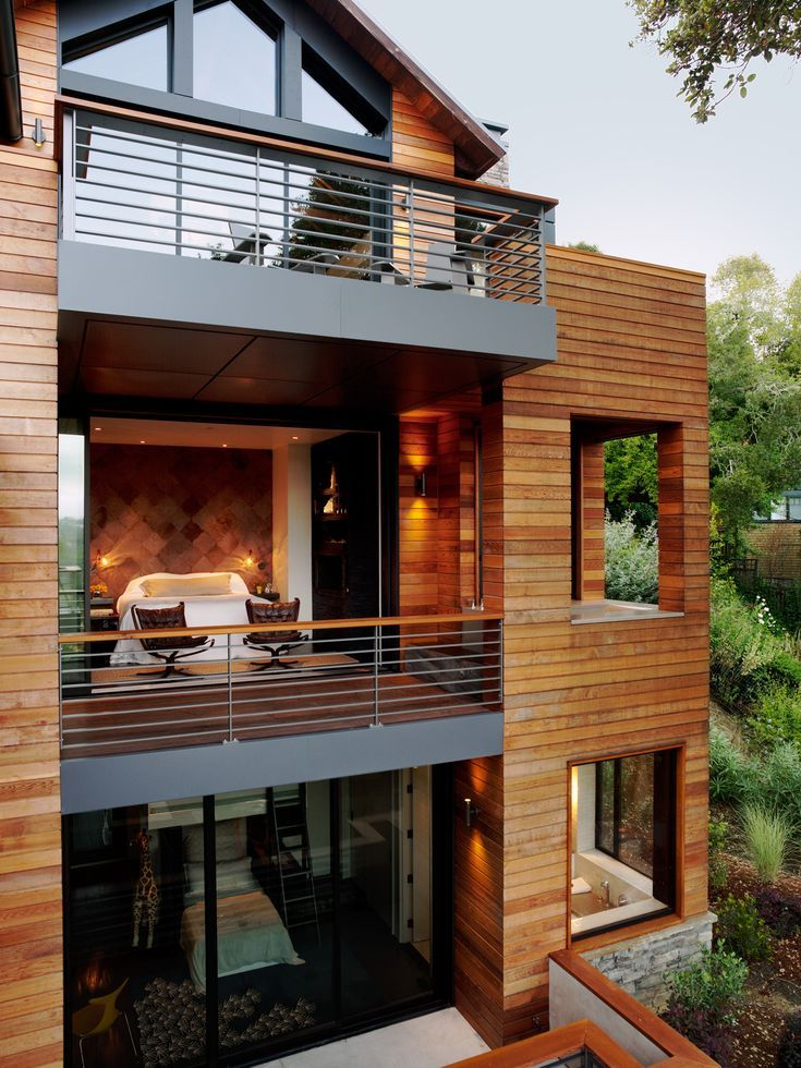 Sustainable Treetop Home