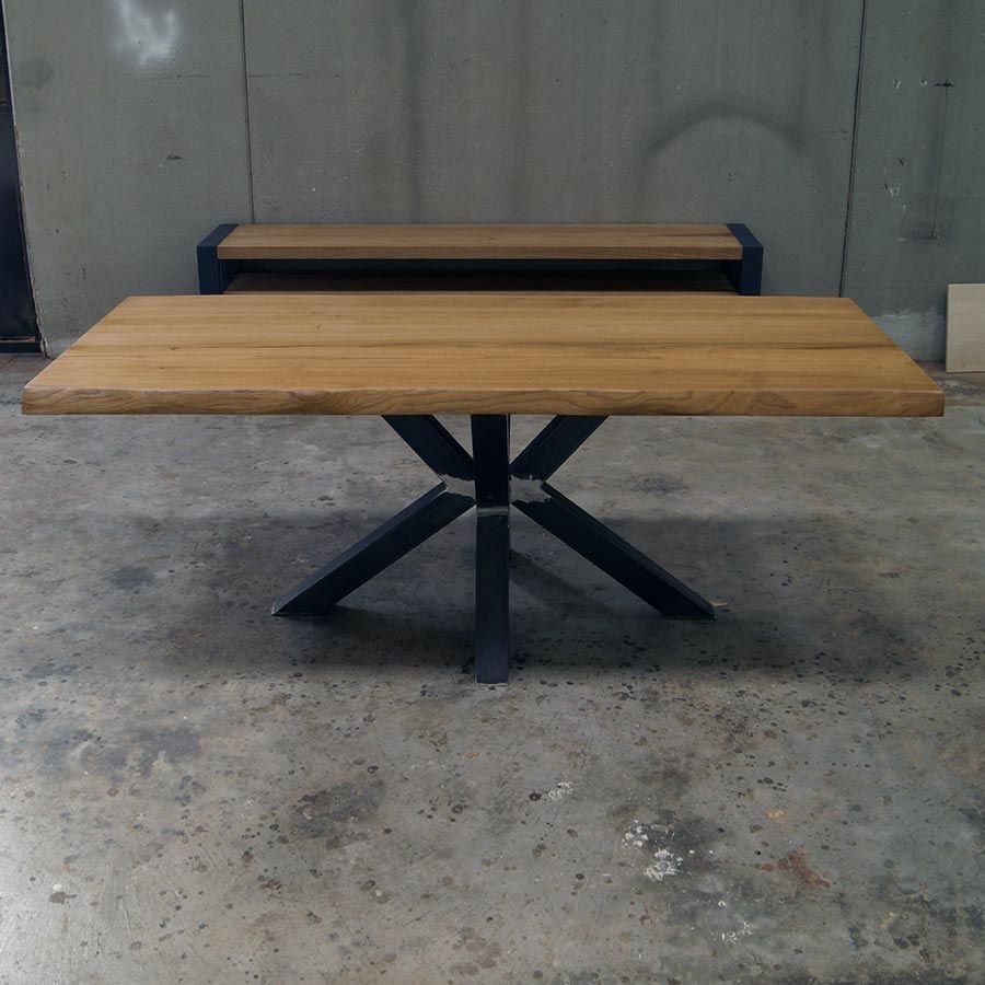 Tavolo Con Gamba Centrale tavolo con piede centrale
