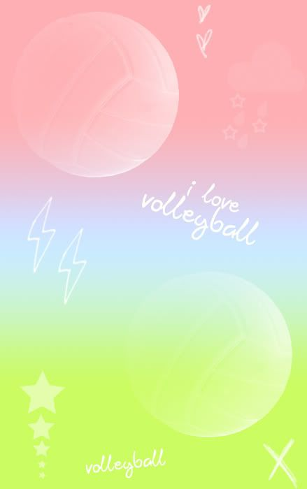 Download Volleyball wallpapers to your cell phone ball fire