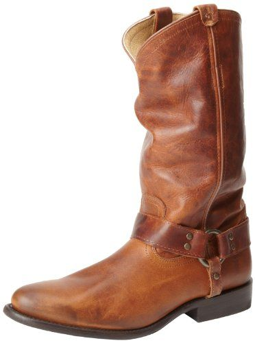 If you like the slouchy look, this Frye leather boot is ...