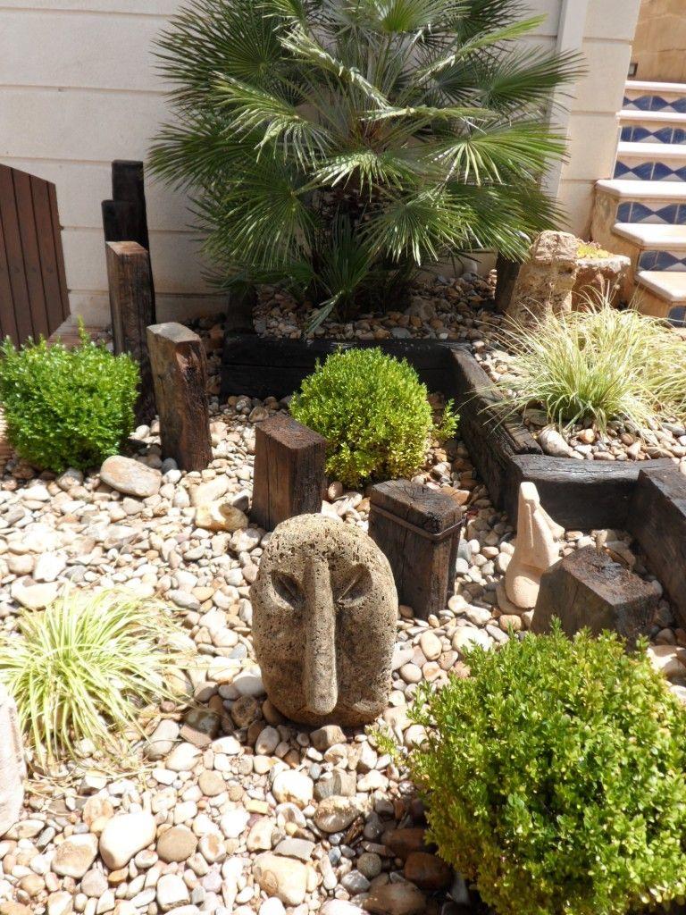 Decoraci n peque o jard n jardines y patios for Jardines decoraciones