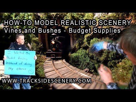 how to create bushes in maya