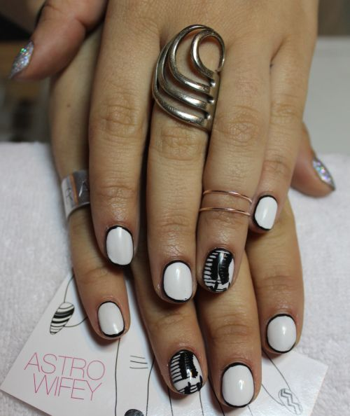 Rock with you michael jackson nail arts and nail tutorials michael jackson nail art prinsesfo Gallery