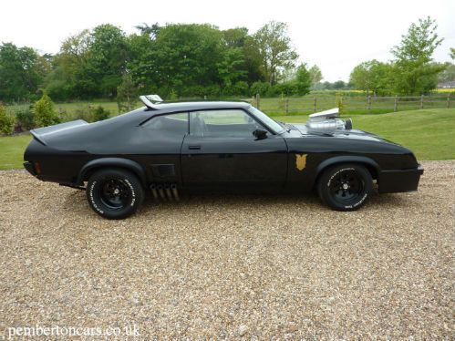 Spotted Ford Falcon Xb Gt 500 Coupe 6 5 V8 Interceptor Ford