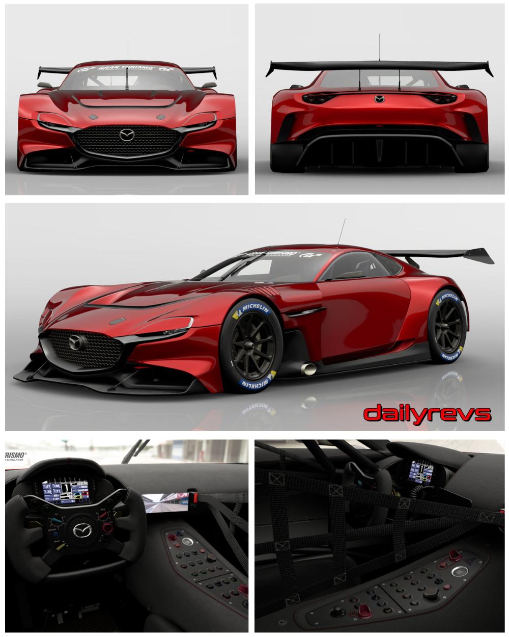 2020 Mazda Rx Vision Gt3 Concept Dailyrevs Com In 2020 Mazda Concept Car Sketch Concept Cars