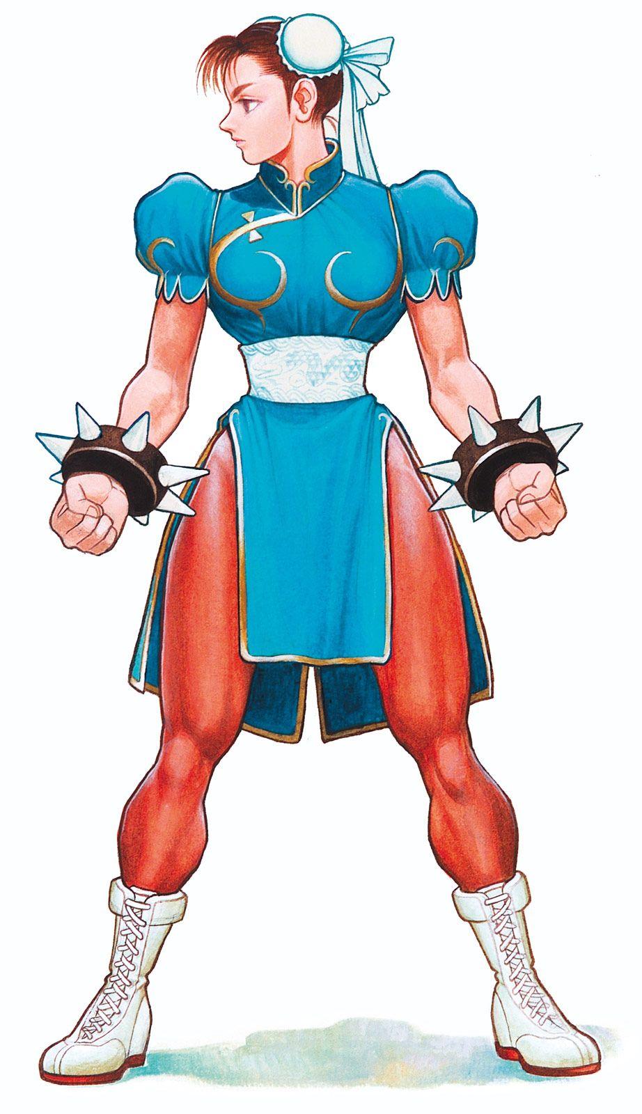 Chun Li Artwork 2 Street Fighter 2 High Resolution