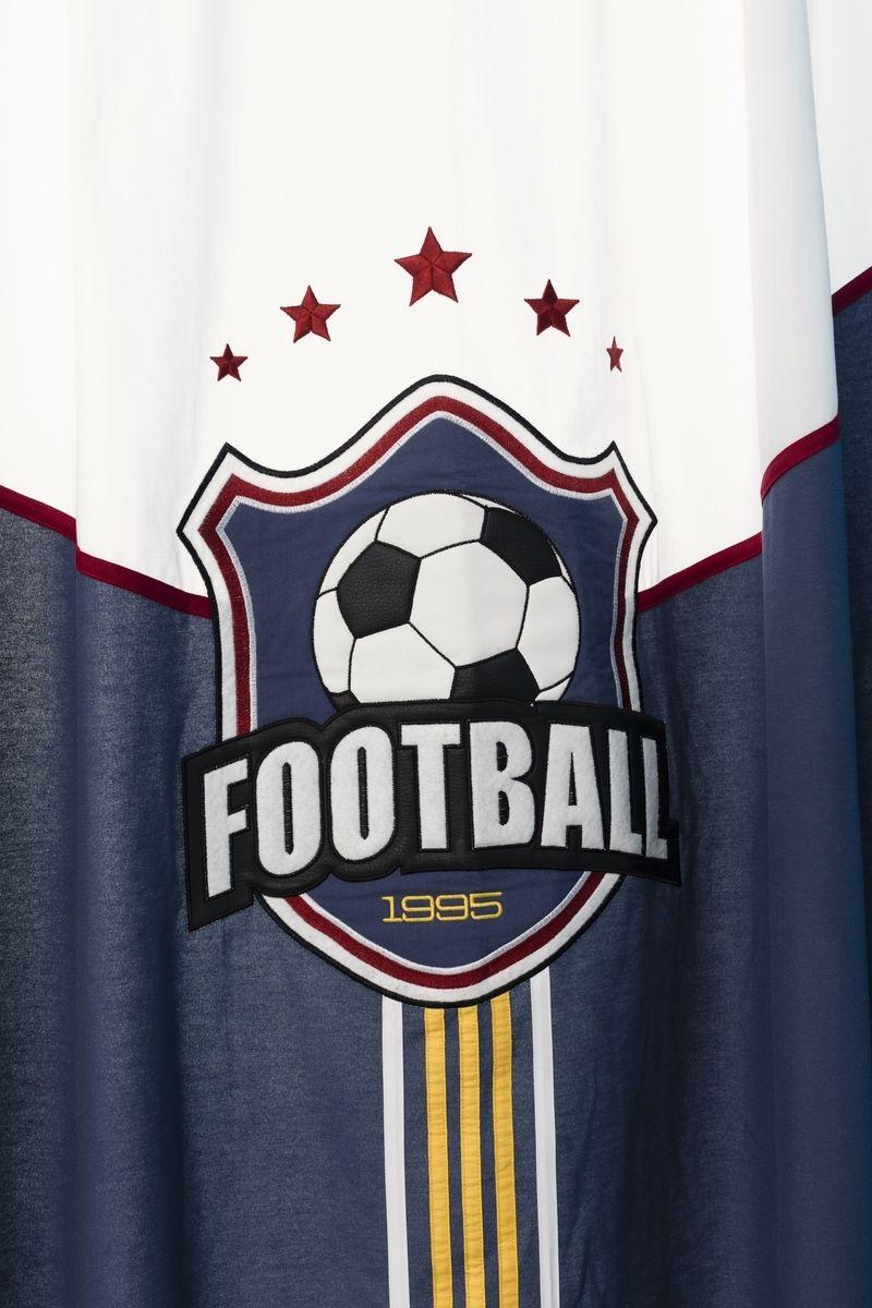 Champion Voetbal, voetbalkamer, voetbal gordijnen, gordijnen ...