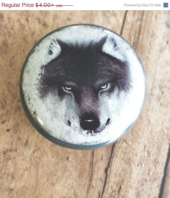 Handmade Wolf Birch Knobs Drawer Pulls, Wildlife Cabinet Pull Handles,  Mysterious Wild Dog Dresser Knobs, Cabin Decor, Made To Order