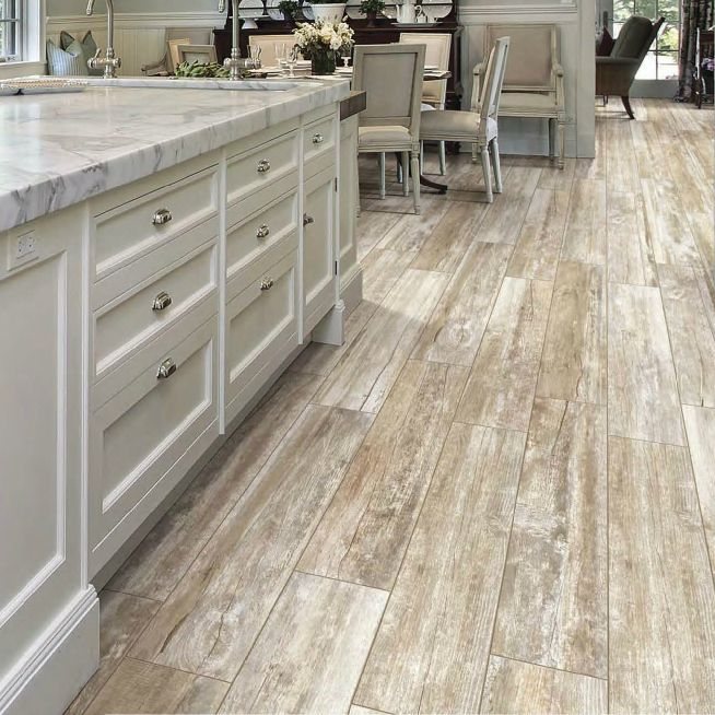 "Industrial Flooring That Looks Like Wood: 8"" X 48"" Boardwalk Myrtile Beach"