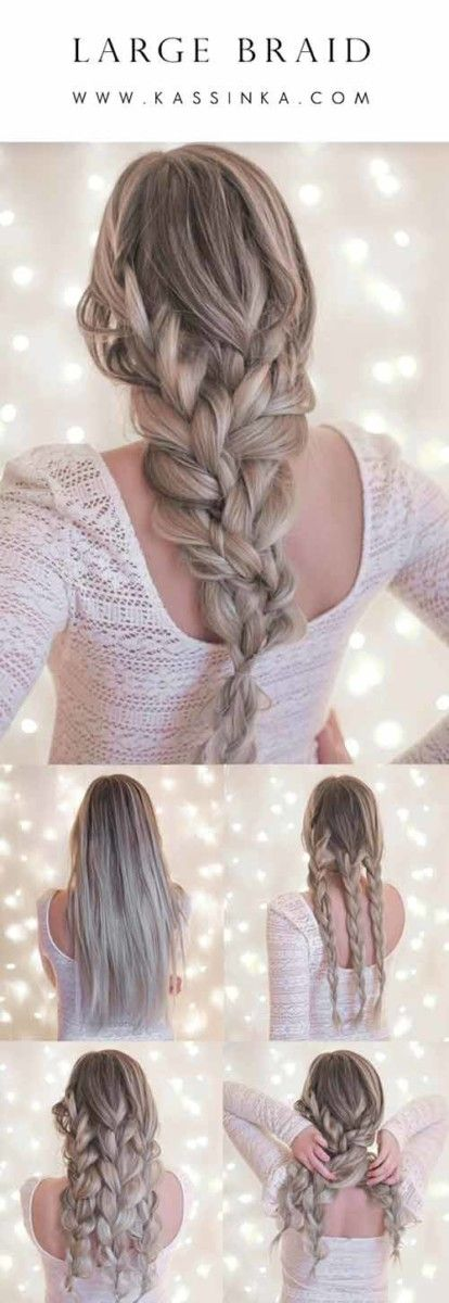 20 Einzigartig Schone Geflochtene Frisuren Fur Madchen Frauen Blog Idee Per Capelli Tutorial Per Capelli Acconciature Naturali