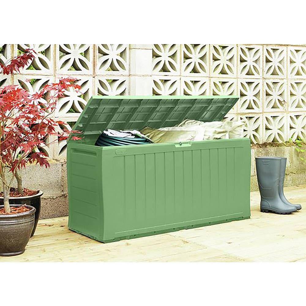 Buy Keter Marvel Plus Garden Storage box 270L Sage