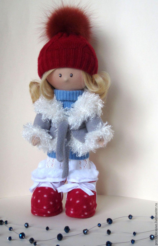 Купить Кукла интерьерная - комбинированный, кукла ручной работы, кукла в подарок, кукла интерьерная