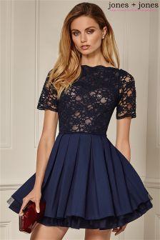23500f119c46 Jones   Jones Lace Top Prom Dress £65