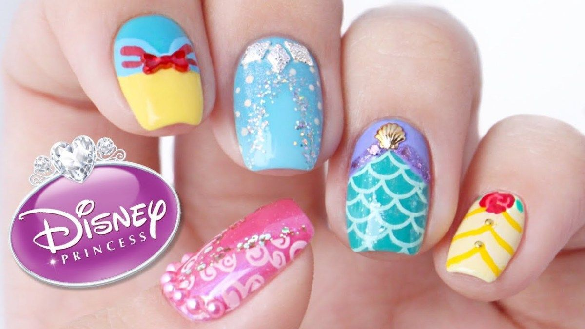 Disney Princess Nail Art Designs Disney Nail Designs Disney Princess Nail Art Simple Disney Nails