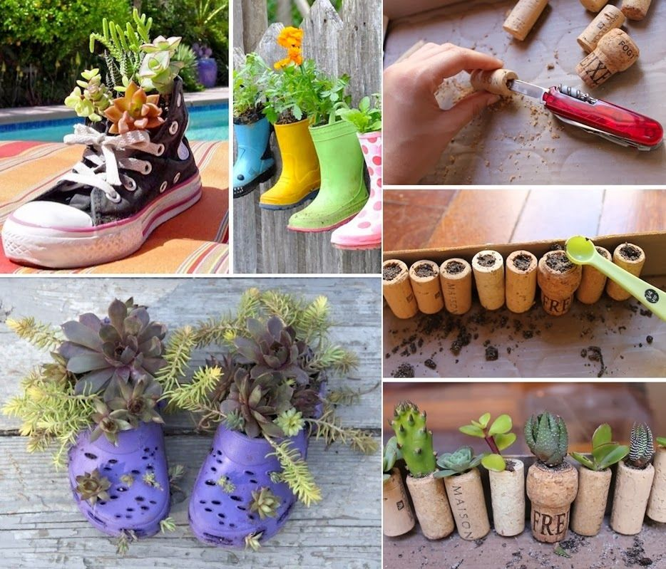 Diy Projects 24 Creative Garden Container Ideas