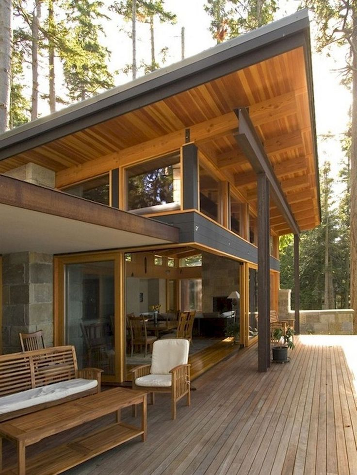 Modern Cozy Mountain Home Design Ideas 18: 45+ Cool And Cozy Small Backyard Seating Area Ideas
