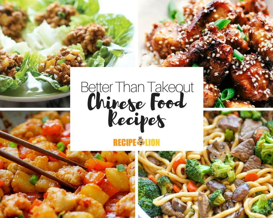 Homemade Chinese Food Recipes 20 Recipes That Beat Takeout Homemade Chinese Food Cooking Chinese Food Easy Chinese Recipes