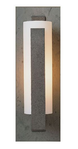 Vertical Slate 15-Inch-H Hubbardton Forge Wall Sconce ...