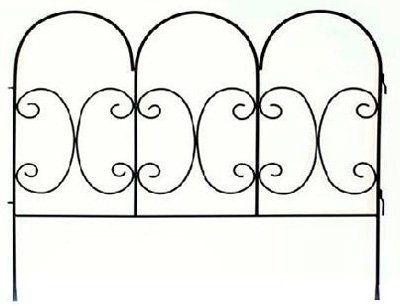 panacea products corpimport 87402 30H x 36W Black Decorative Scroll Fence Panel >>> Find out more about the great product at the image link.