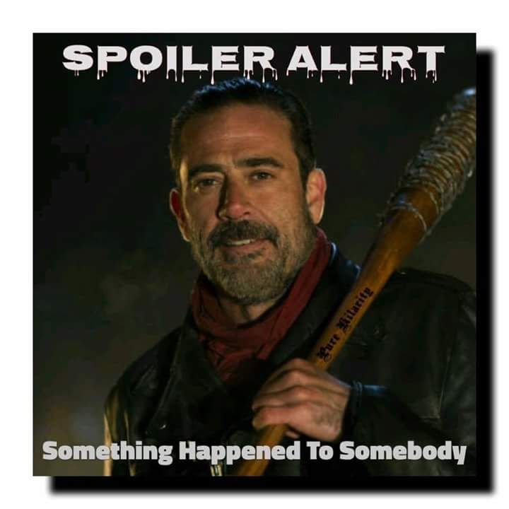 TWD.. Yeah, that's about right.. Let's drag it out for six more months.. Geez.