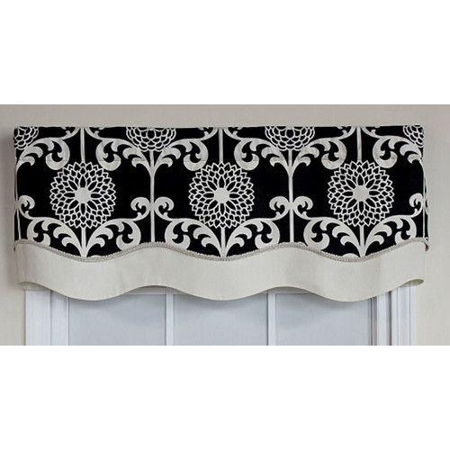 Found It At Joss Main Natalia Floral Print Curtain Valance Curtains
